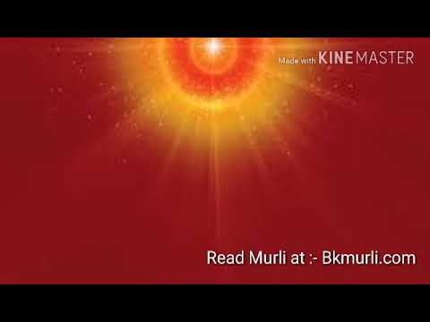 BK murli today ~ 06/10/2017 (Hindi) Brahma Kumaris प्रातः मुरली